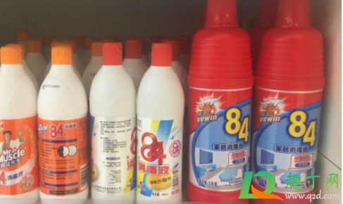 84消毒液配比浓度表图(84消毒液的配比表格)