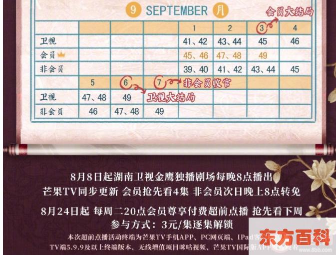 《与君歌》追剧日历 《与君歌》更新时间表